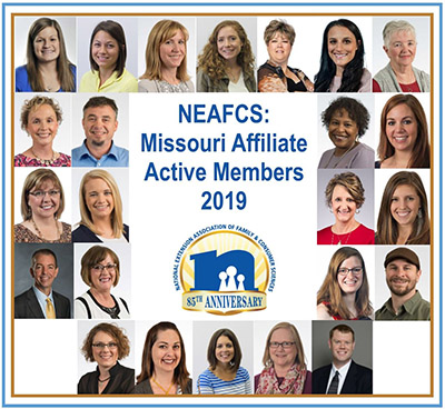 Images of Missouri members active in NEAFCS