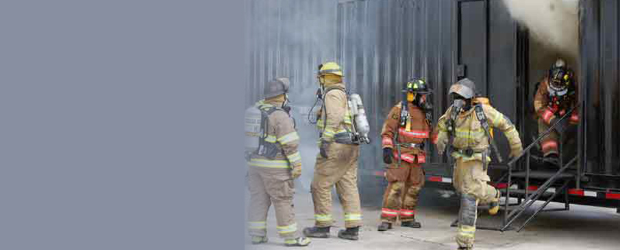 Flashover training at FRTI