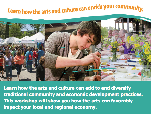 CDA Explores looks at the arts as a vehicle for community and economic development.