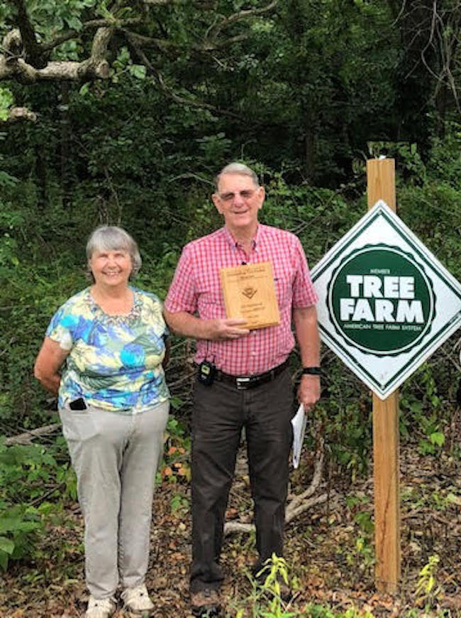 Hannibal residents recognized as Outstanding Tree Farmers of the Year