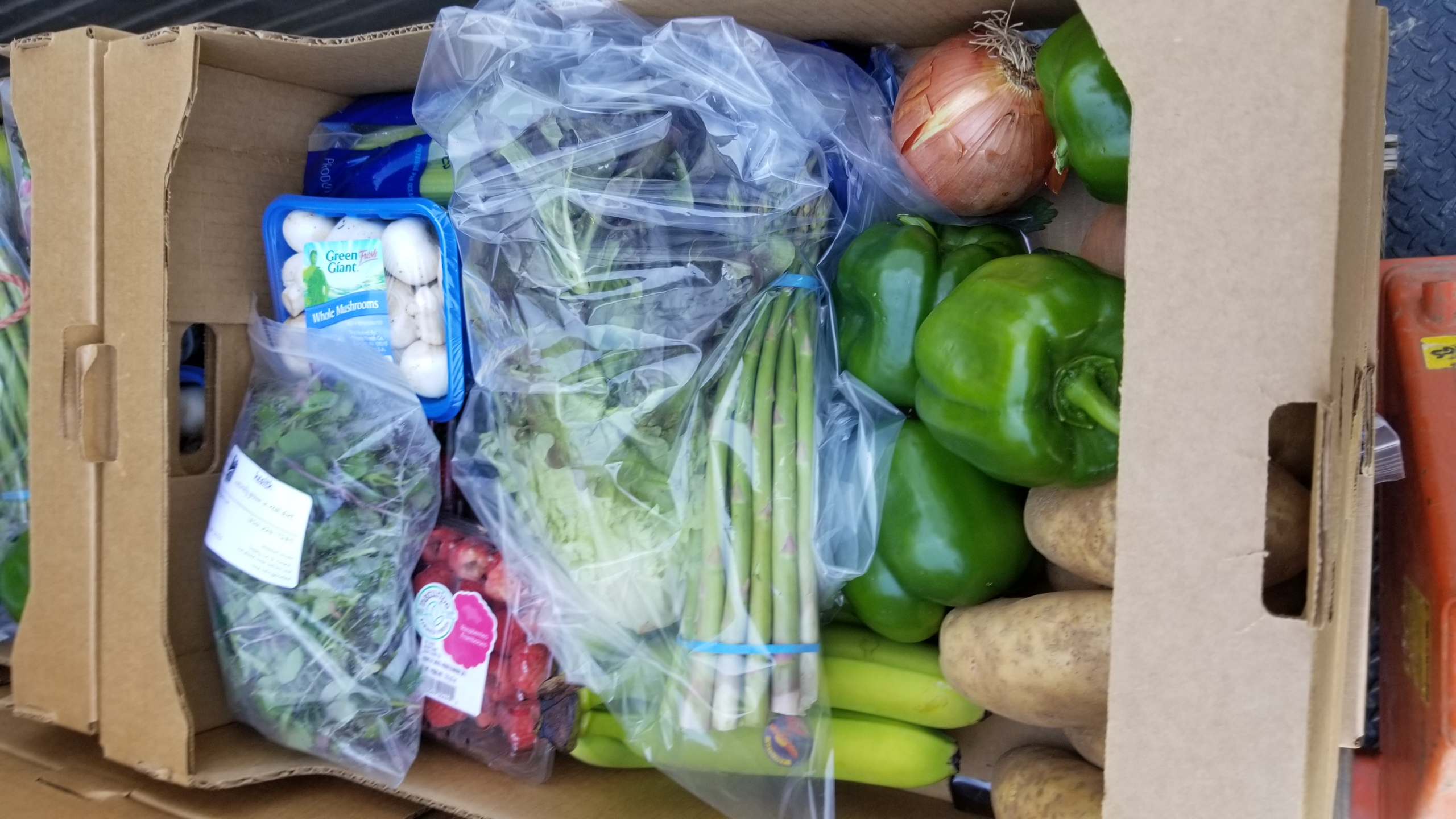 A produce pack from Fahrmeier Farms.