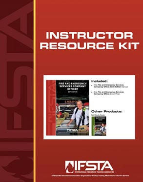 Fire and Emergency Services Company Officer, Sixth Edition, Instructor Resource Kit.