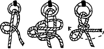 Quick-release knot