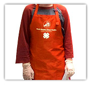 Stock Healthy apron