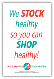 We stock healthy window cling